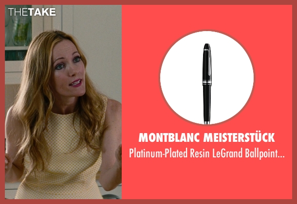Montblanc Meisterstück pen from The Other Woman