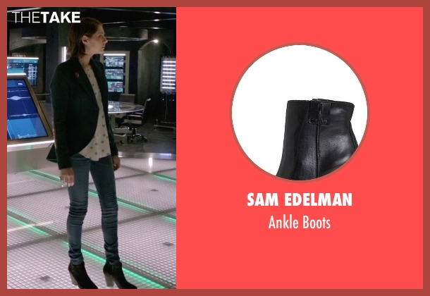 Sam Edelman black boots from Arrow seen with Thea Queen / Speedy (Willa Holland)