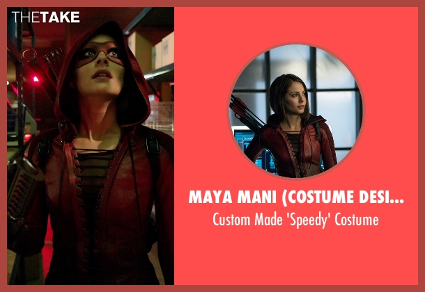 Maya Mani (Costume Designer) costume from Arrow seen with Thea Queen / Speedy (Willa Holland)