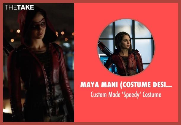 Maya Mani (Costume Designer) costume from Arrow seen with Thea Queen / Speedy (Willa Holland)