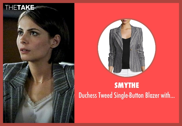 Smythe gray patches from Arrow seen with Thea Queen / Speedy (Willa Holland)