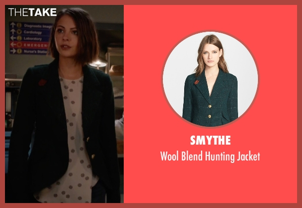 Smythe green jacket from Arrow seen with Thea Queen / Speedy (Willa Holland)