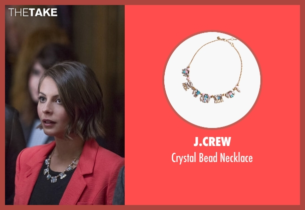 J.Crew necklace from Arrow seen with Thea Queen / Speedy (Willa Holland)