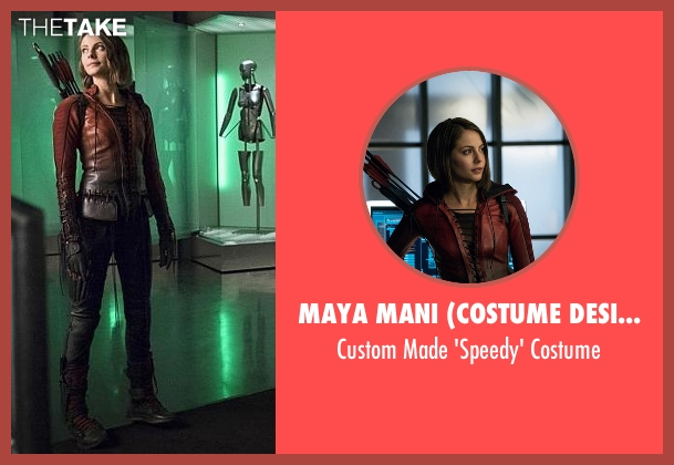 Maya Mani (Costume Designer) costume from The Flash seen with Thea Queen / Speedy (Willa Holland)