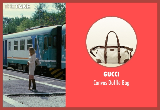 Gucci beige bag from The American seen with Thekla Reuten (Mathilde)