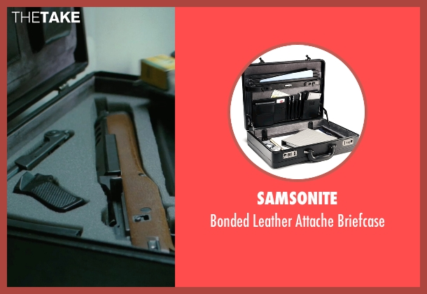 Samsonite briefcase from The American seen with Thekla Reuten (Mathilde)