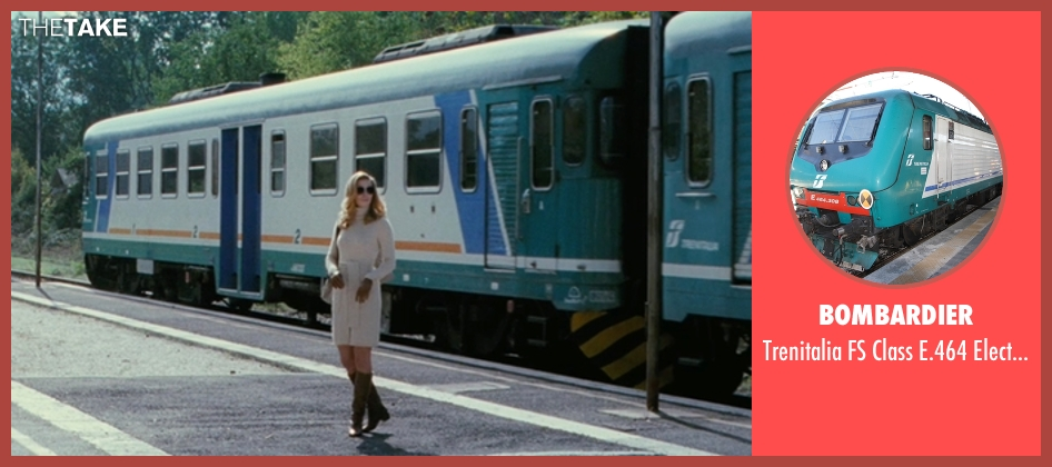 Bombardier train from The American seen with Thekla Reuten (Mathilde)