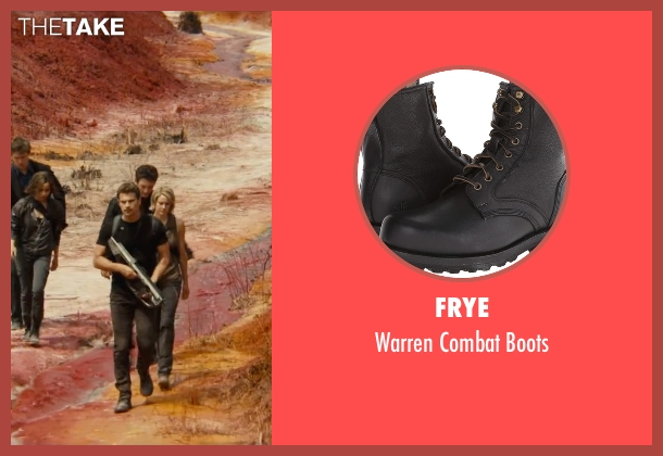 Frye black boots from The Divergent Series: Allegiant seen with Theo James (Four)