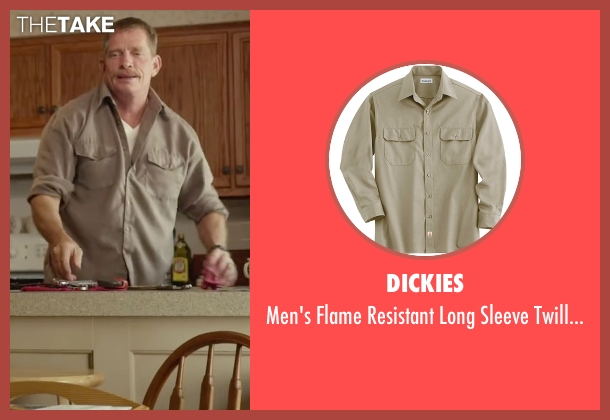 Dickies beige shirt from Max seen with Thomas Haden Church (Ray)