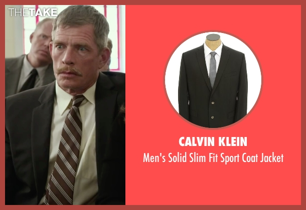 Calvin Klein black jacket from Max seen with Thomas Haden Church (Ray)