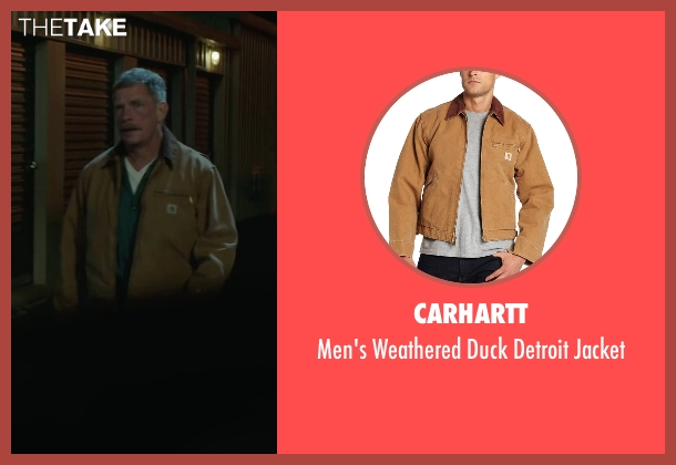 Carhartt brown jacket from Max seen with Thomas Haden Church (Ray)