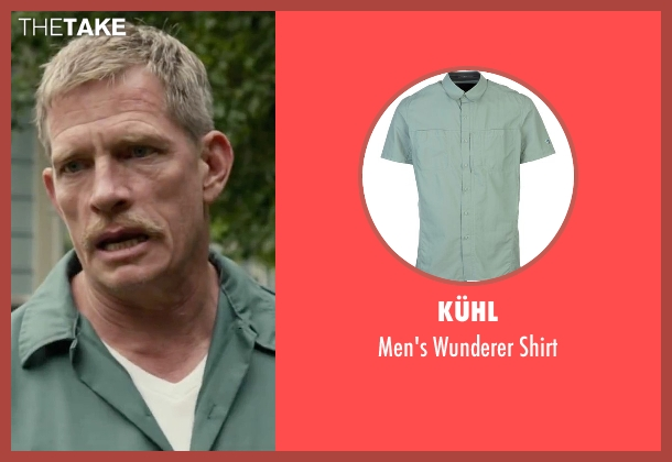 Kühl green shirt from Max seen with Thomas Haden Church (Ray)