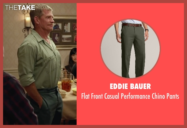 Eddie Bauer pants from Max seen with Thomas Haden Church (Ray)
