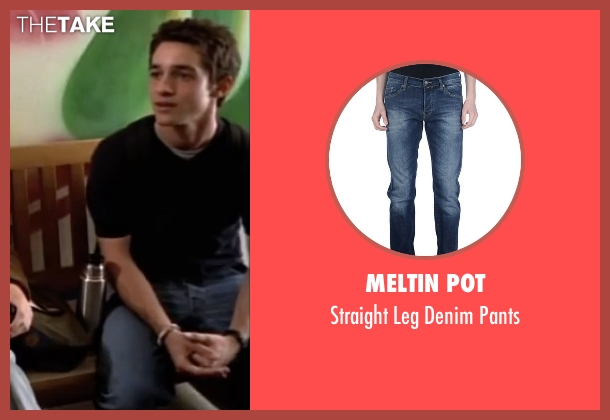 Meltin Pot blue pants from American Pie seen with Thomas Ian Nicholas (Kevin Myers)