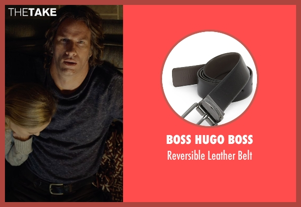 Boss Hugo Boss black belt from Before I Wake seen with Thomas Jane (Mark)