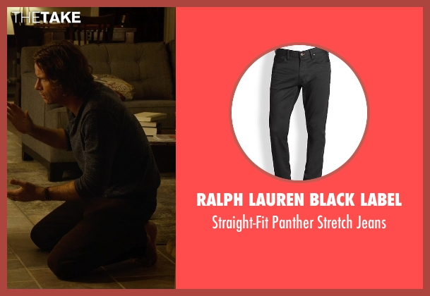 Ralph Lauren Black Label black jeans from Before I Wake seen with Thomas Jane (Mark)