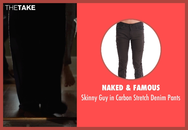 Naked & Famous black pants from Before I Wake seen with Thomas Jane (Mark)