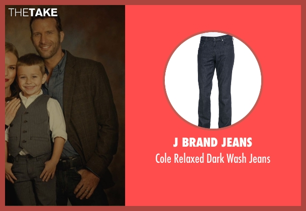 J Brand Jeans blue jeans from Before I Wake seen with Thomas Jane (Mark)