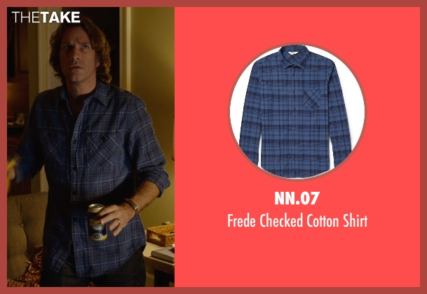 NN.07 blue shirt from Before I Wake seen with Thomas Jane (Mark)