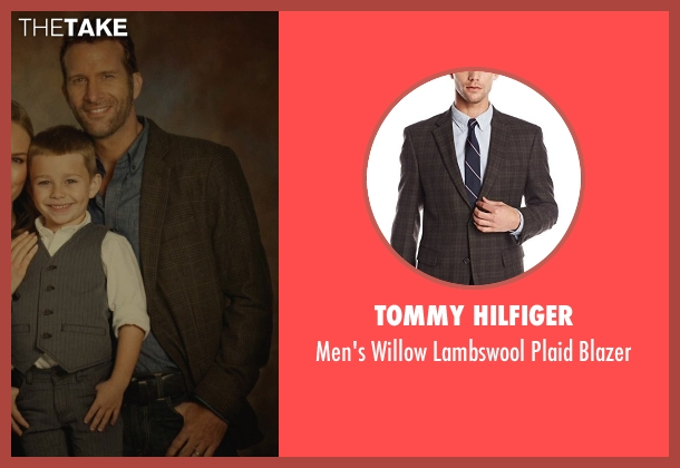 Tommy Hilfiger brown blazer from Before I Wake seen with Thomas Jane (Mark)