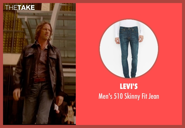Levi's blue jean from Vice seen with Thomas Jane (Roy)