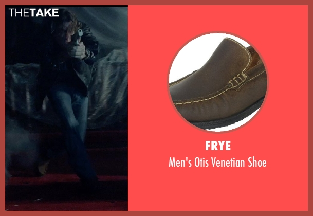 Frye brown shoe from Vice seen with Thomas Jane (Roy)