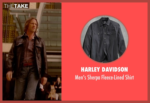 Harley Davidson gray shirt from Vice seen with Thomas Jane (Roy)