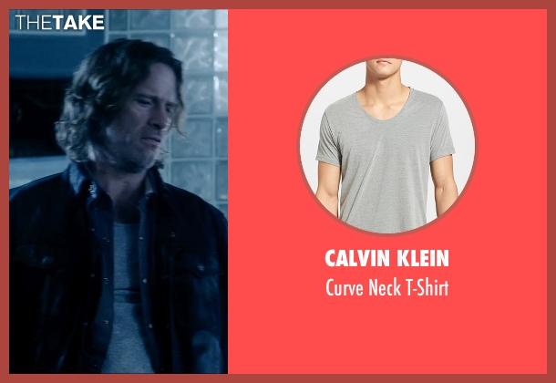 Calvin Klein gray t-shirt from Vice seen with Thomas Jane (Roy)