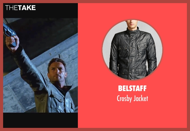 Belstaff gray jacket from Wanted seen with Thomas Kretschmann (Cross)