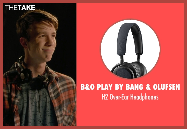 B&O Play By Bang & Olufsen black headphones from Barely Lethal seen with Thomas Mann (Roger Marcus)