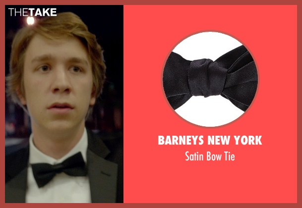 Barneys New York black tie from Me and Earl and the Dying Girl seen with Thomas Mann (Greg Gaines)