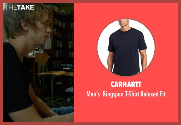 Carhartt blue fit from Me and Earl and the Dying Girl seen with Thomas Mann (Greg Gaines)