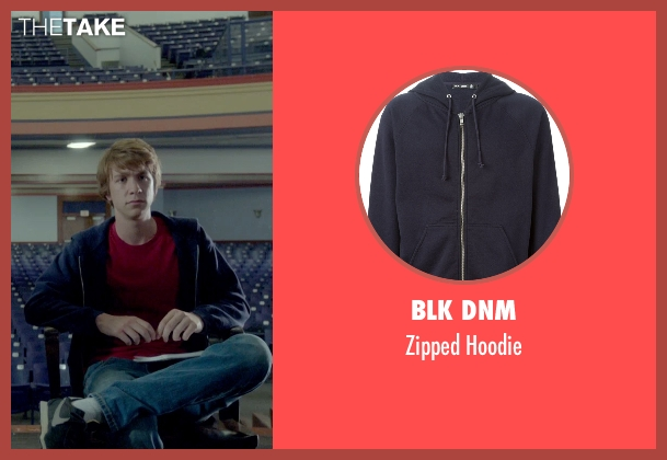 BLK DNM blue hoodie from Me and Earl and the Dying Girl seen with Thomas Mann (Greg Gaines)