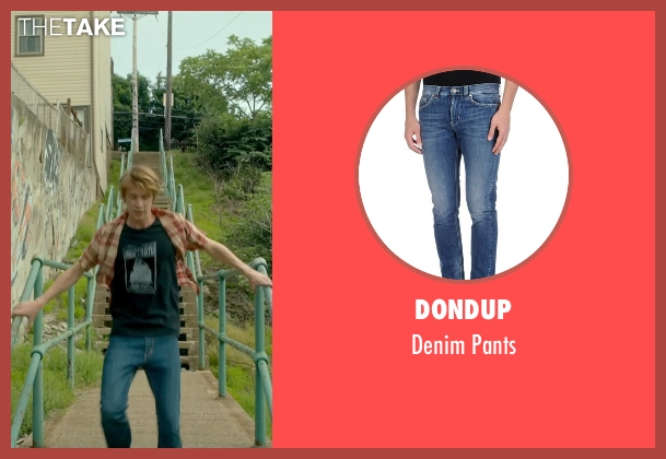 Dondup blue pants from Me and Earl and the Dying Girl seen with Thomas Mann (Greg Gaines)