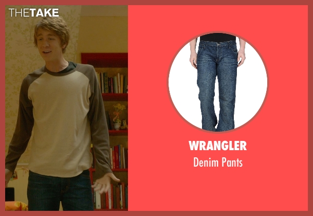 Wrangler blue pants from Me and Earl and the Dying Girl seen with Thomas Mann (Greg Gaines)