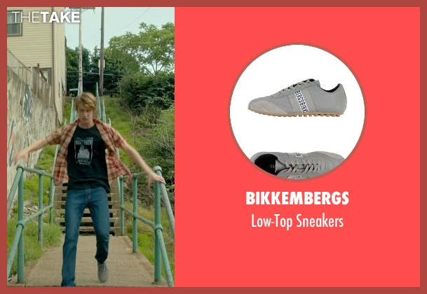 Bikkembergs gray sneakers from Me and Earl and the Dying Girl seen with Thomas Mann (Greg Gaines)