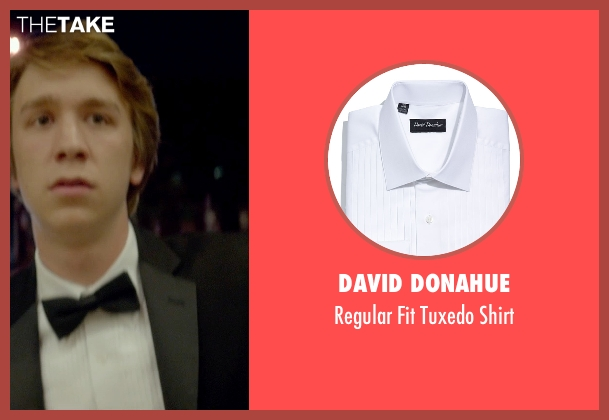 David Donahue white shirt from Me and Earl and the Dying Girl seen with Thomas Mann (Greg Gaines)