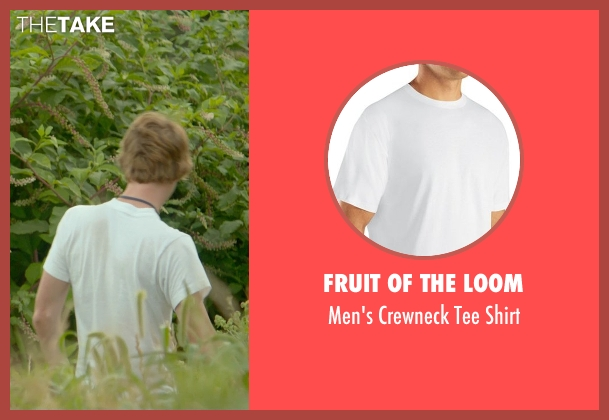 Fruit Of The Loom white shirt from Me and Earl and the Dying Girl seen with Thomas Mann (Greg Gaines)