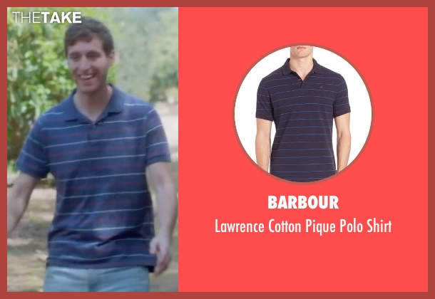 Barbour blue shirt from Joshy seen with Thomas Middleditch (Josh)