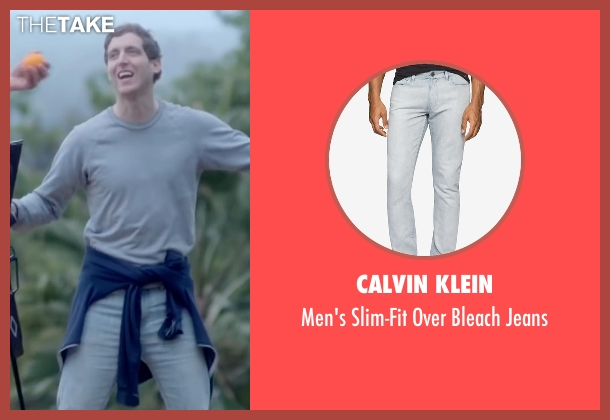 Calvin Klein white jeans from Joshy seen with Thomas Middleditch (Josh)