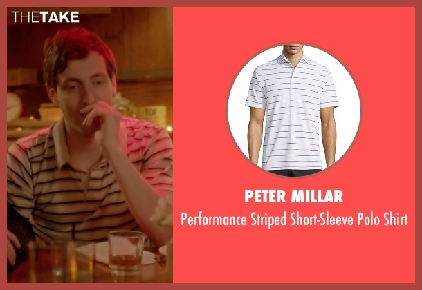 Peter Millar white shirt from Joshy seen with Thomas Middleditch (Josh)
