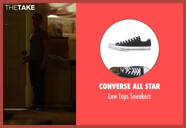 Converse All Star black sneakers from Wild seen with Thomas Sadoski (Paul)