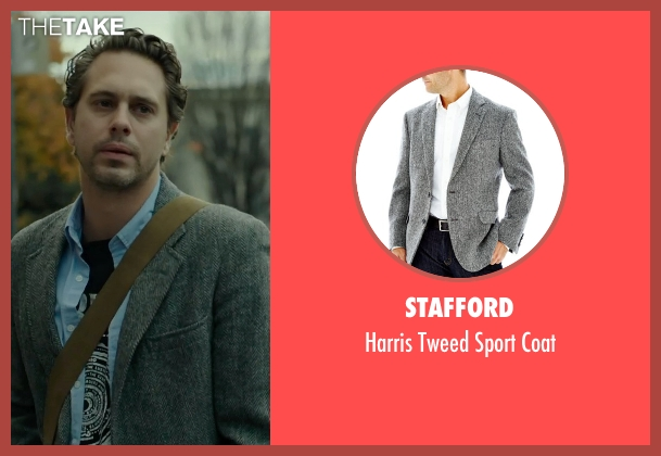 Stafford gray coat from Wild seen with Thomas Sadoski (Paul)