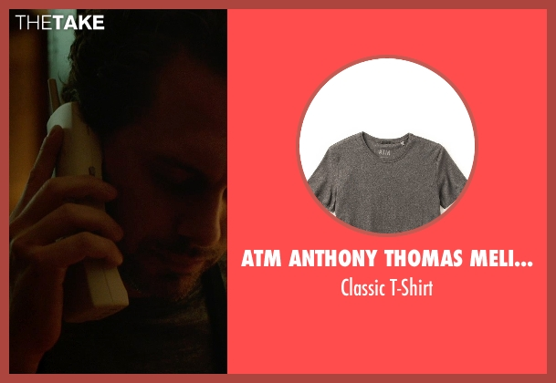 ATM Anthony Thomas Melillo gray t-shirt from Wild seen with Thomas Sadoski (Paul)