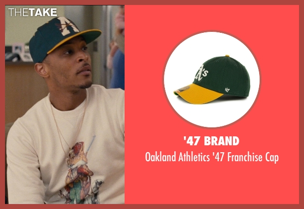 '47 Brand green cap from Entourage seen with T.I. (Unknown Character)