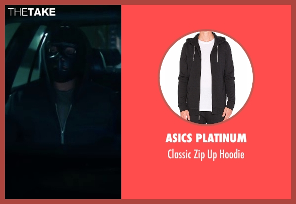 Asics Platinum black hoodie from Sleepless seen with T.I. (Derrick Griffin)