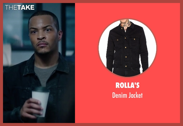 Rolla's black jacket from Sleepless seen with T.I. (Derrick Griffin)