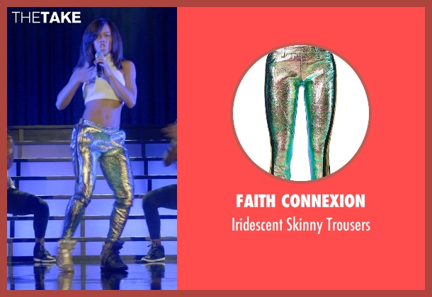 Faith Connexion trousers from Empire seen with Tiana Brown (Serayah)