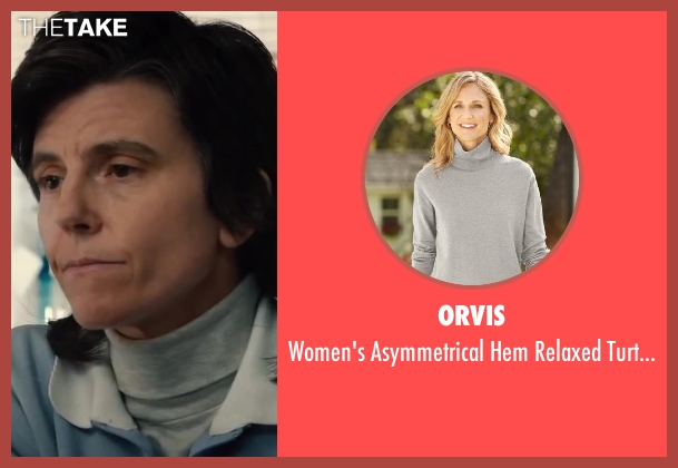 Orvis sweater from Walk of Shame seen with Tig Notaro (Impound Woman)