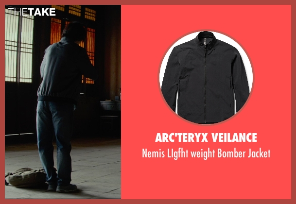 Arc'Teryx Veilance black jacket from Man of Tai Chi seen with Tiger Hu Chen (Tiger Chen Lin Hu)